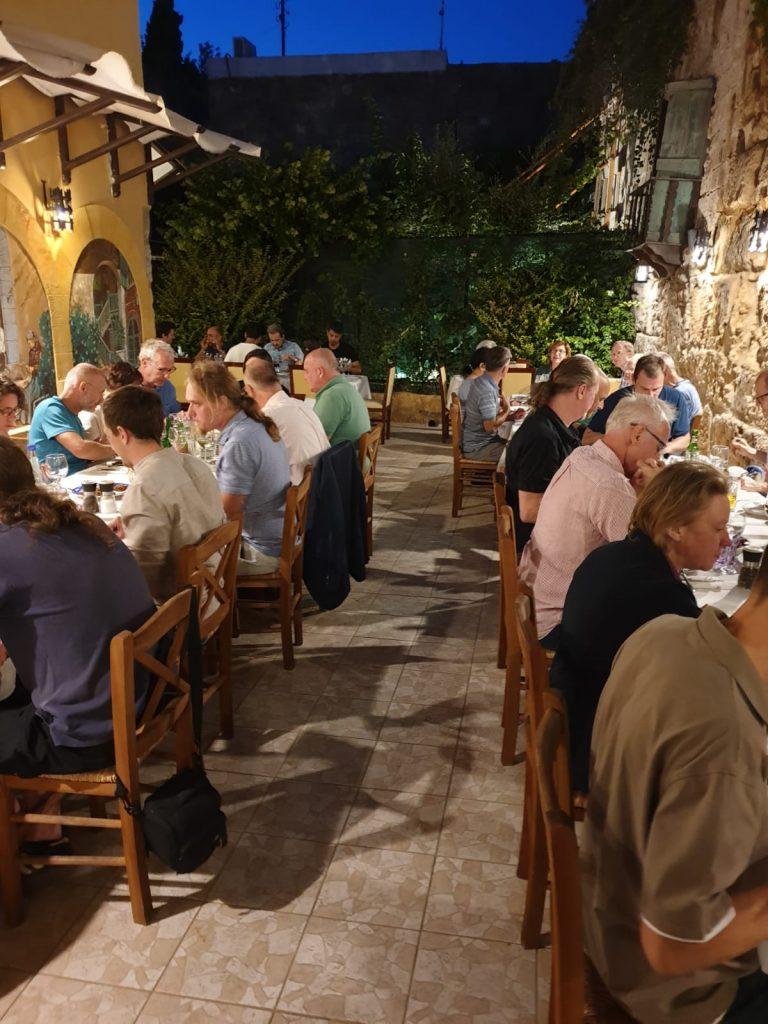 Raith user meeting dinner