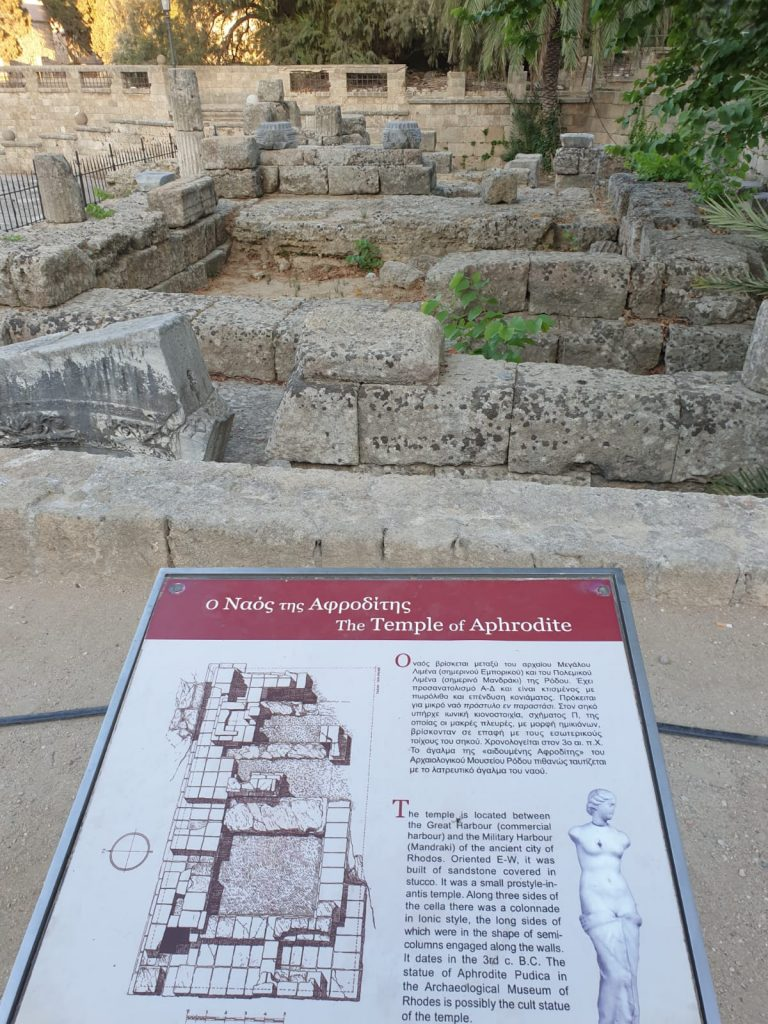 Rhodes Temple of Aphrodite